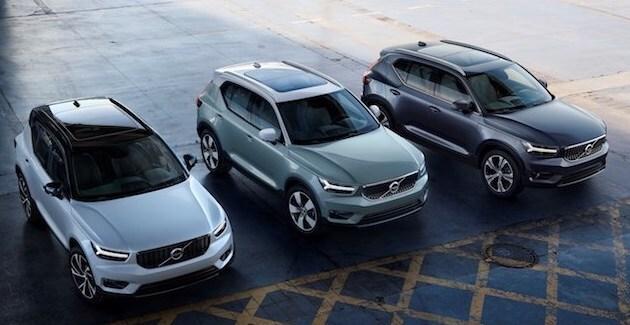 2019 Volvo Xc40 Model Options Momentum Vs R Design Vs Inscription