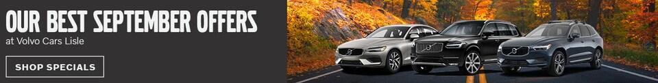 September Specials at Volvo Cars Lisle