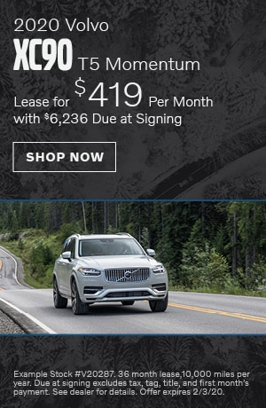 2020 Volvo XC90 T5 Momentum - January Offer