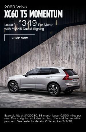 2020 Volvo XC60 - February Offer