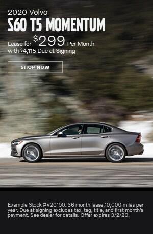 2020 Volvo S60 - February Offer
