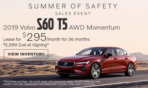 2019 Volvo S60 AWD Momentum