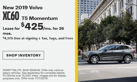 July 2019 XC60 Lease Offer