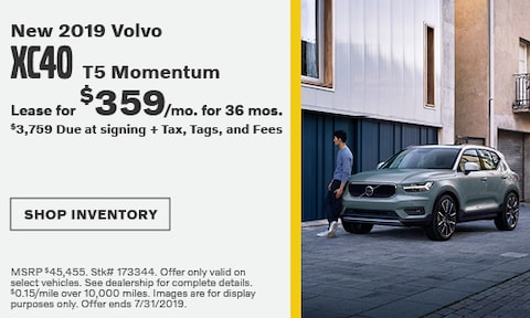 July 2019 XC40 Lease Offer