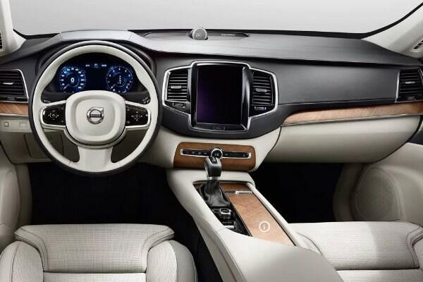 2017 Volvo XC90 front interior