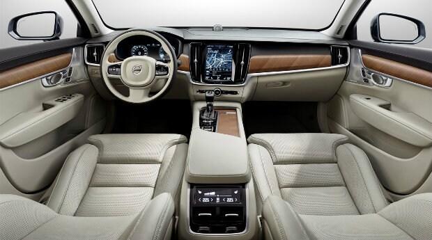 2017 Volvo S90 interior near Irvine