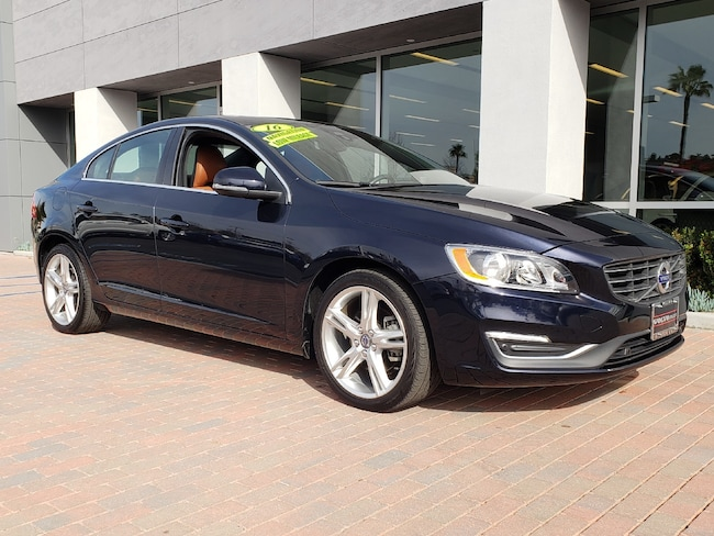 Pre-Owned 2016 Volvo S60 T5 Drive-E Premier W/Blis/Navigation Sedan in Mission Viejo, CA