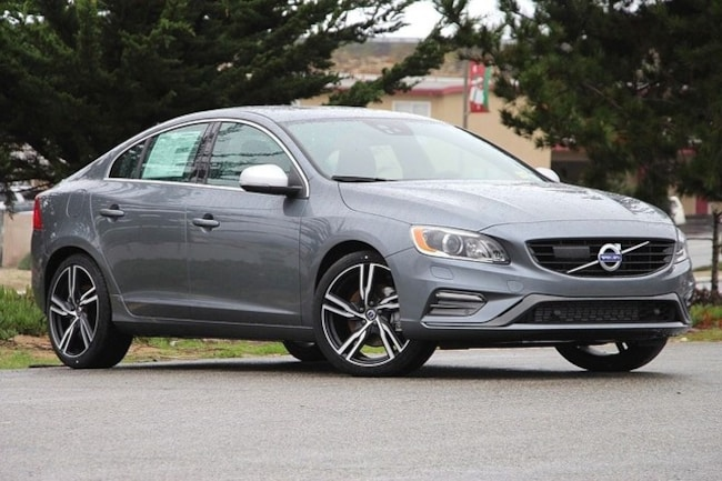 New 2017 Volvo S60 T6 AWD R-D T6 AWD R-Design Platinum in Seaside, CA