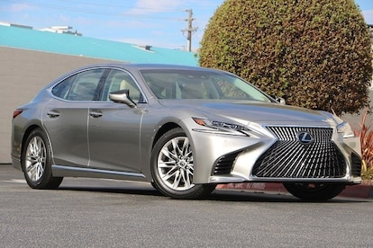Used 2018 LEXUS LS 500 in Seaside near Salinas CA | VIN: JTHB51FF4J5004521