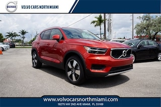 New 2019 Volvo XC40 Momentum SUV YV4AC2HK6K2051780 for sale in Miami, FL at Volvo of North Miami