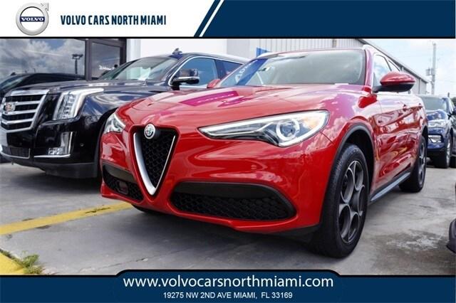 Pre-Owned 2018 Alfa Romeo Stelvio SUV in Miami, FL