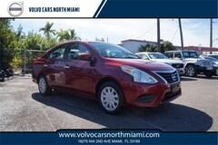 Used 2017 Nissan Versa 1.6 SV Sedan for sale in Miami, FL at Volvo of North Miami
