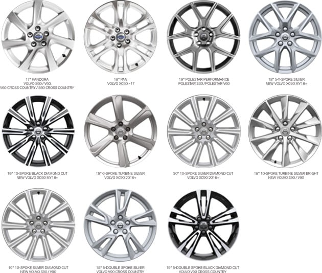 winter wheel kits for your volvo
