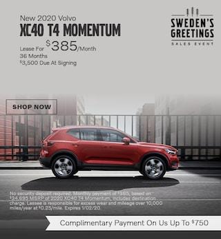 New 2020 Volvo XC40