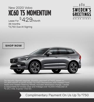 New 2020 Volvo XC60