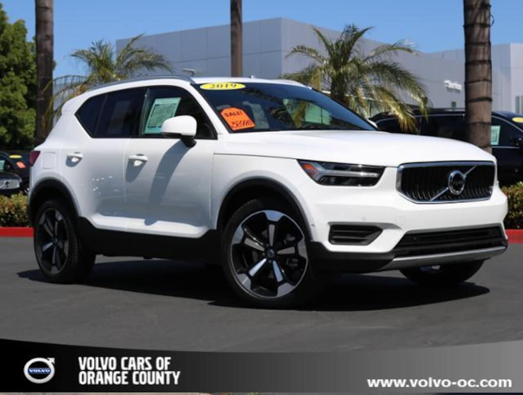 Used 2019 Volvo XC40 For Sale   Volvo Cars Orange County in Santa Ana CA    YV4162XZ7K2019846