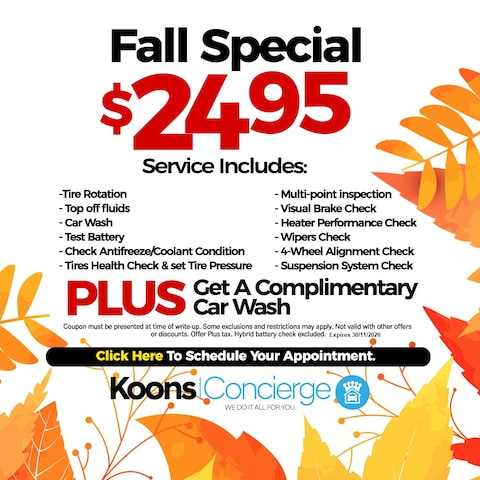 Fall Car Wash Special