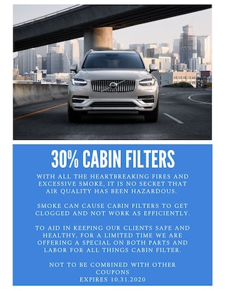 30% Cabin Filters