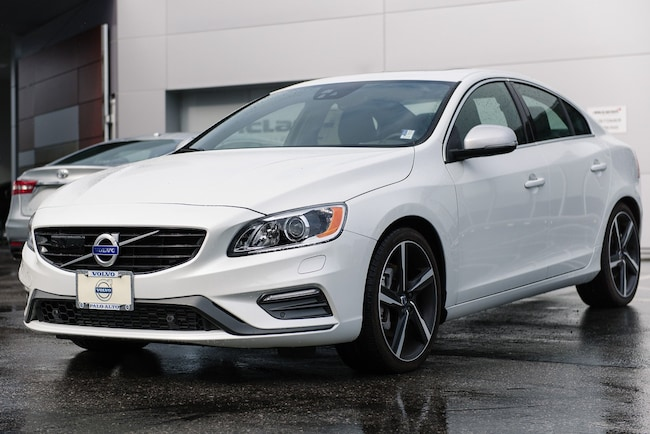New 2016 Volvo S60 T6 Drive-E R-Design Platinum Sedan For Sale/Lease Palo Alto, CA
