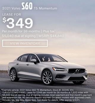 2021 Volvo S60 T5 Momentum