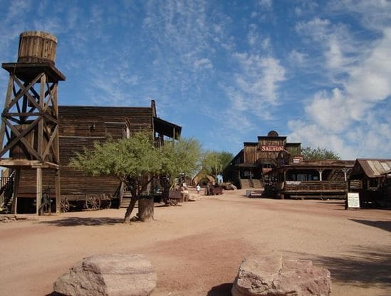 Goldfield Ghost Town Apache Junction Arizona