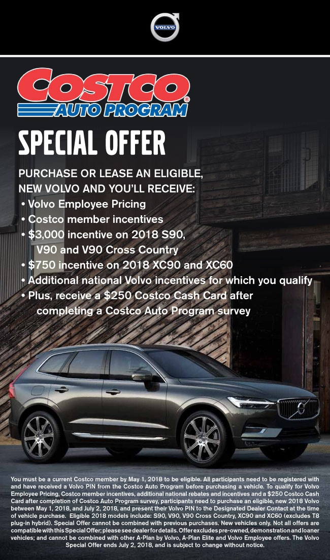 Costco Special Offer Volvo Cars Of Phoenix