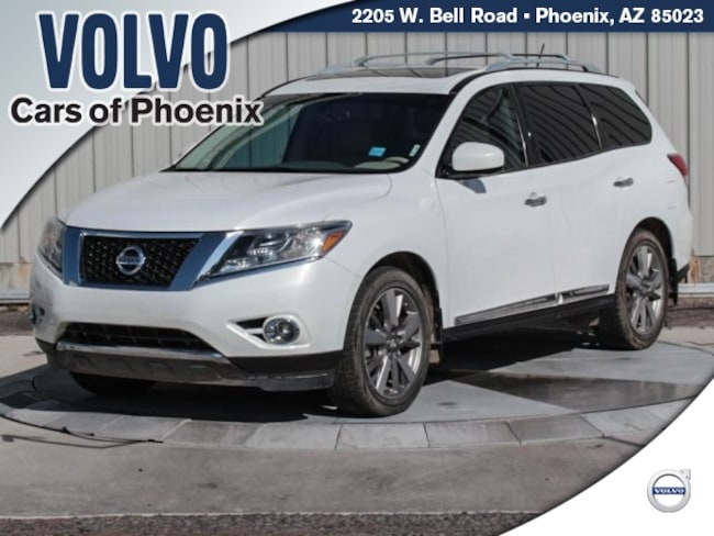 Used 2013 Nissan Pathfinder Platinum SUV for sale in Phoenix