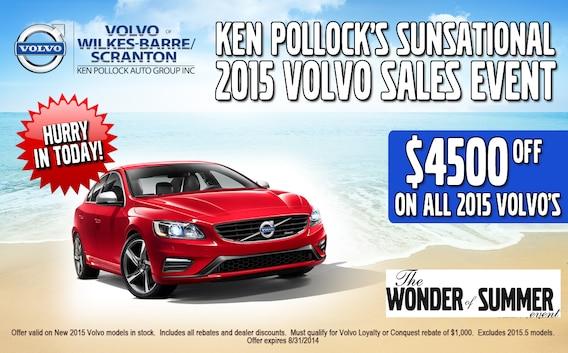 Summer Sales Event Ken Pollock Volvo Cars