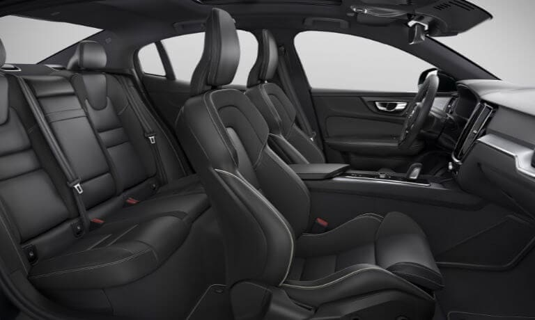 New Volvo S60 interior seating view