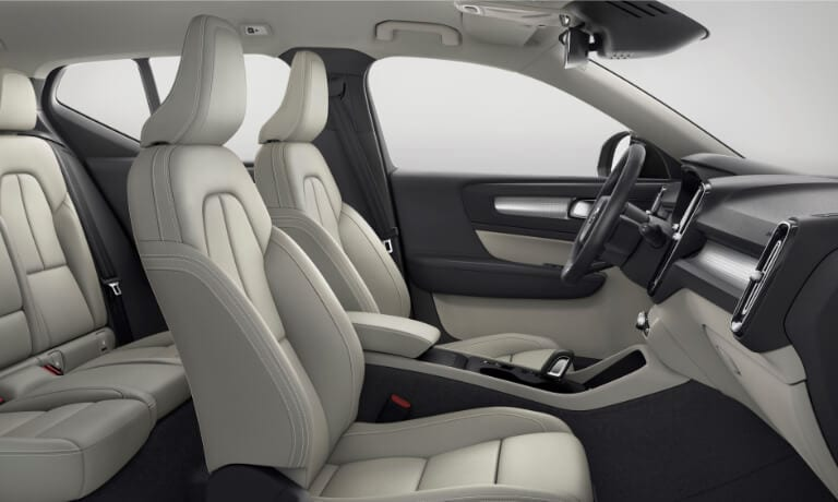 Volvo XC40 Interior seating view