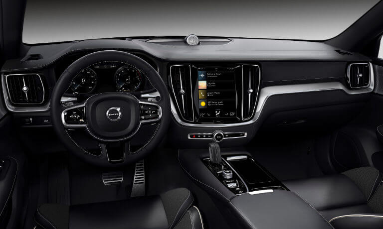New Volvo S60 infotainment view