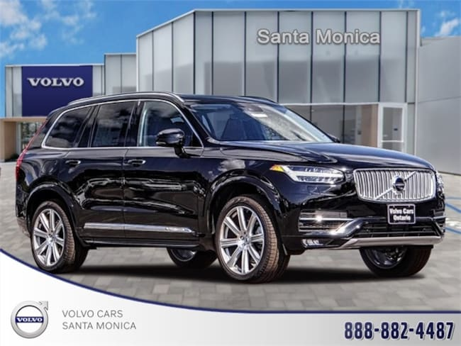 New Volvo 2018 Volvo XC90 T6 AWD Inscription (7 Passenger) SUV Santa Monica