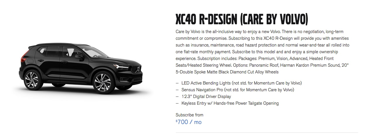 XC40 Care By Volvo