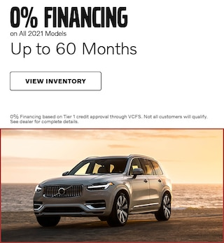 0% Financing on All 2021 Models