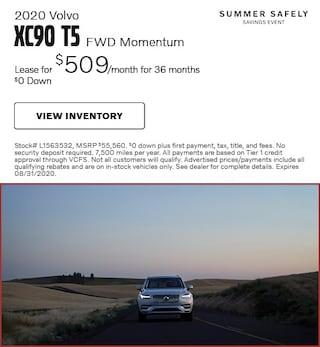 2020 Volvo XC90 T5 FWD Momentum