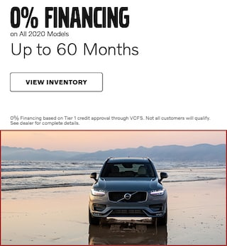 0% Financing on All 2020 Models