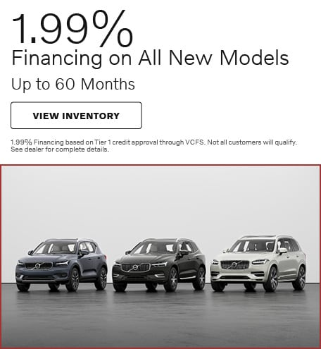 1.99% Financing on All New Models