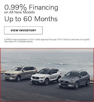 0.99% Financing on All New Models
