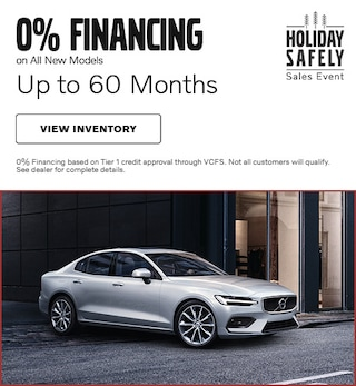 0% Financing on All New Models Up to 60 Months