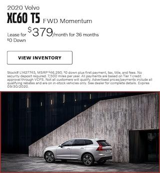 2020 Volvo XC60 T5 FWD Momentum
