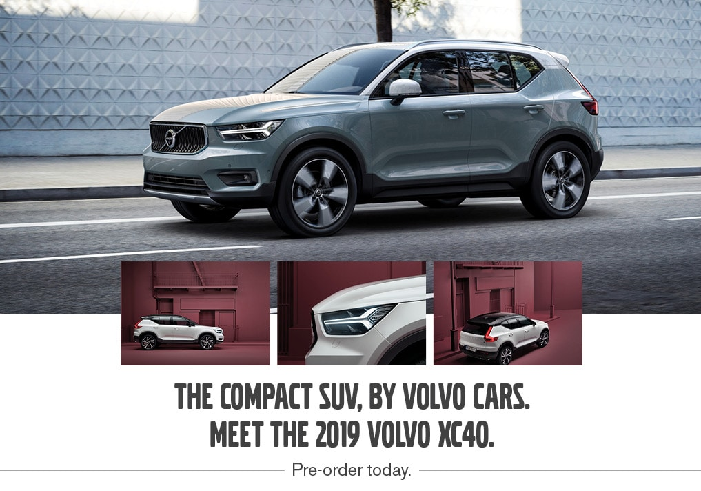 Pre-order the All-New 2019 Volvo XC40