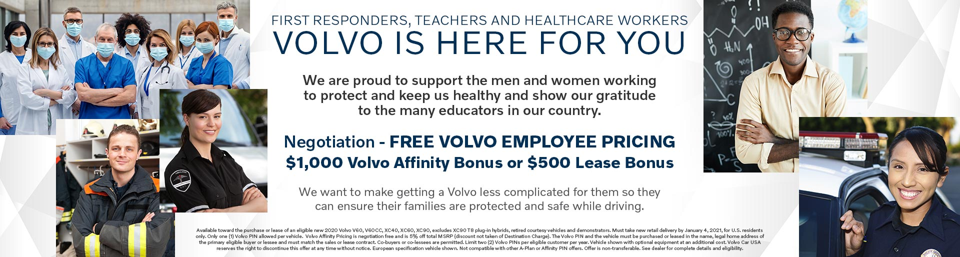 Volvo is here for you.