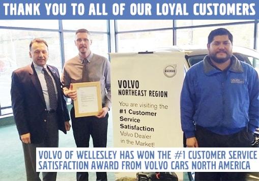 Dedicated to Customer Satisfaction | Volvo Cars Wellesley