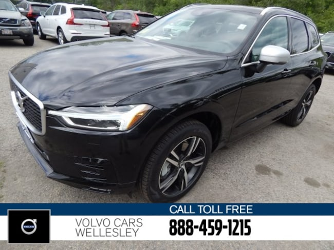 New 2018 Volvo XC60 T6 AWD R-Design SUV in Wellesley, MA