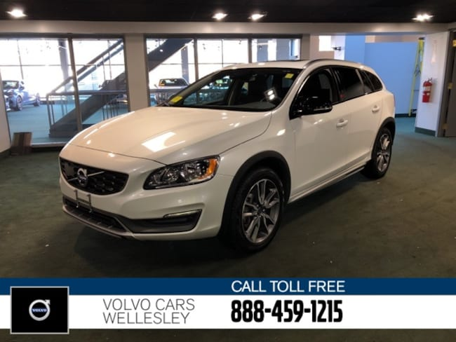 Certified 2016 Volvo V60 Cross Country T5 Wagon in Wellesley, MA