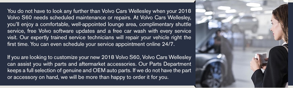 2018 Volvo S60 Near Wellesley, MA