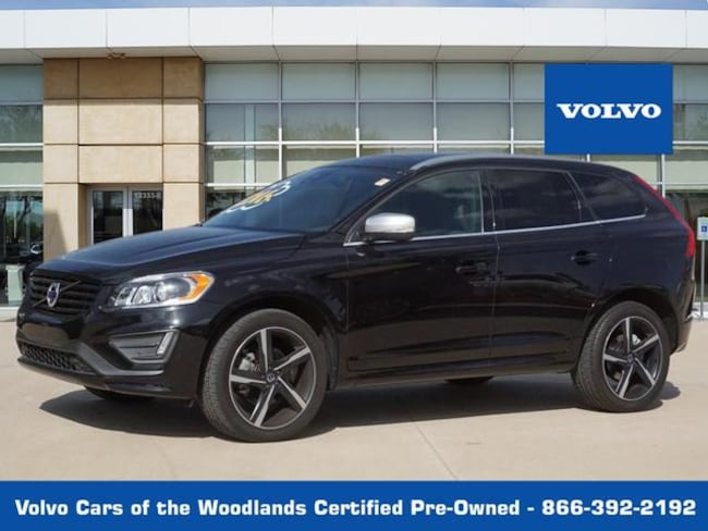Used 2016 Volvo XC60 T6 Drive-E R-Design Platinum AWD T6 Drive-E R-Design Platinum  SUV in Houston TX