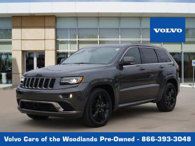 Used 2016 Jeep Grand Cherokee 4D SUV RWD 4x2 High Altitude  SUV in Houston TX