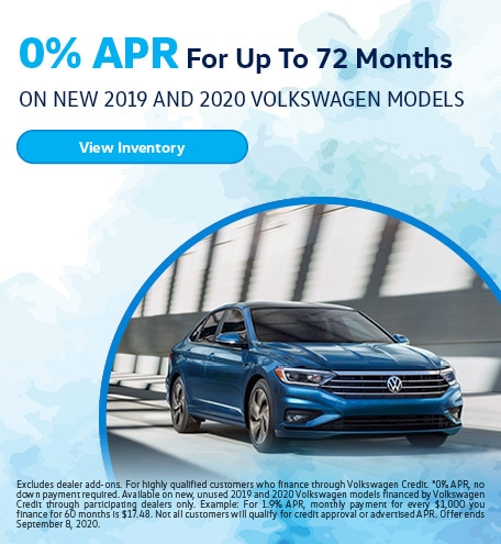 0% APR for 72 Months August