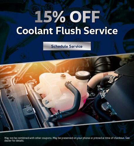 Coolant Flush July